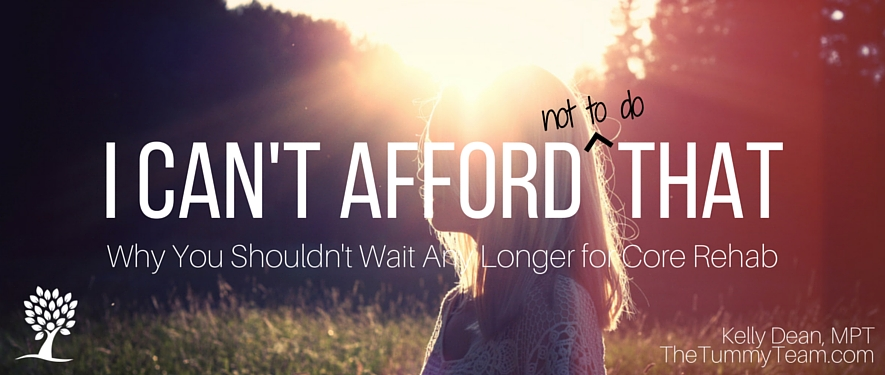 I Can't Afford That