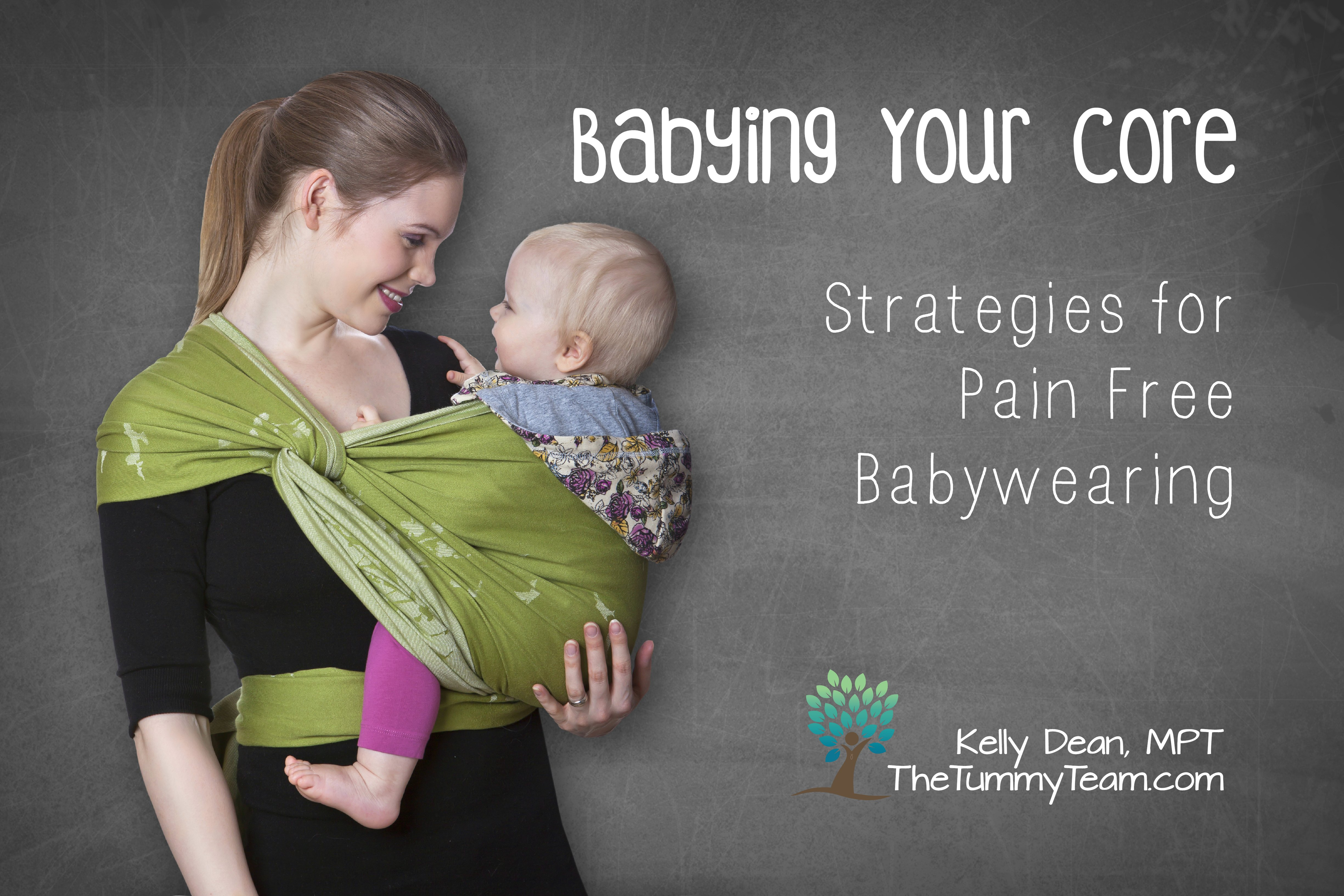 Strategies for Pain-Free Babywearing