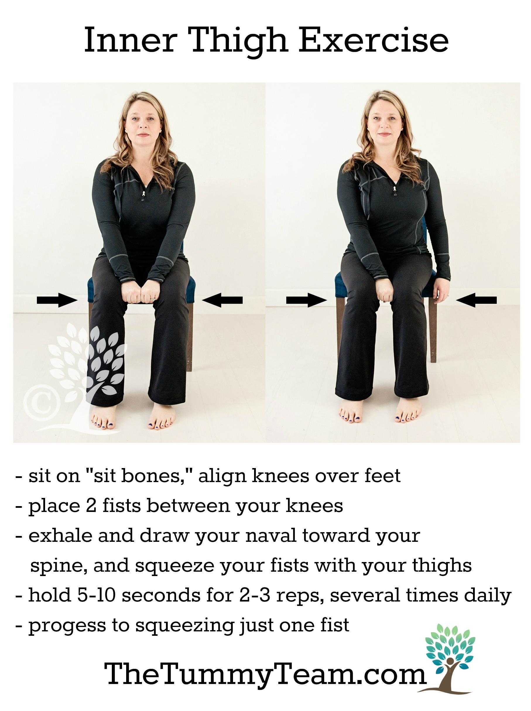 Inner Thigh Exercise