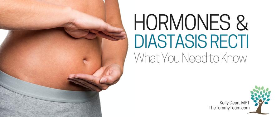 hormones diastasis recti