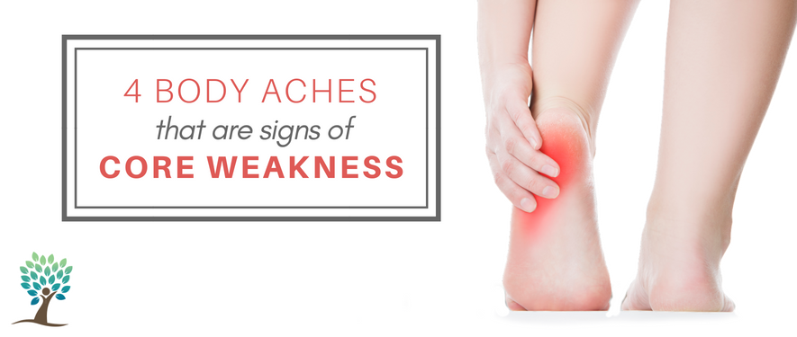 4 body aches that are signs of core weakness, the tummy team