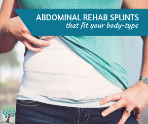 Get an Abdominal Splint from The Tummy Team